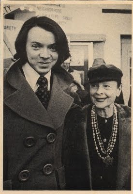 Bud Cort and Ruth Gordon