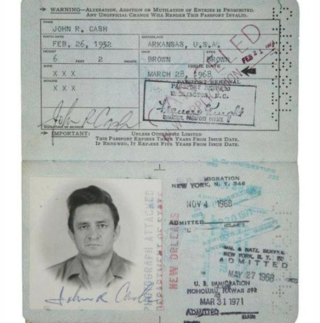 Passport Photos of Iconic Figures in The Past (15)
